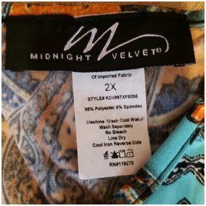 Midnight Velvet Dresses - Midnight Velvet Print Dress Summer Dinner Party